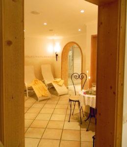 Wellnessbereich im Hotel Garni Rottenau